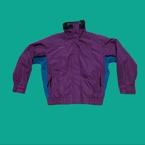 Vtg 90s Columbia Women's 2in1 Bugaboo Ski Jacket